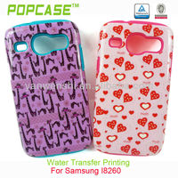 hot design pc silicone case for samsung galaxy core i8260 i8262