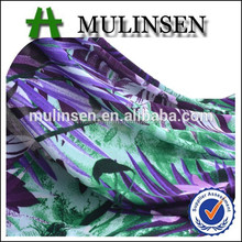 Mulinsen hotsale design smooth FDY printed cloth fabric textile
