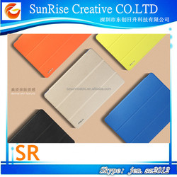 Rock Stand Leather Case for ipad Air 2, High quality leather case
