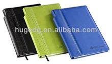 popular hot selling Handmade personal PU leather dairy hardcover notebook