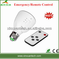Hot sale 4w remote control recharegeable home bulb led emergency lamp