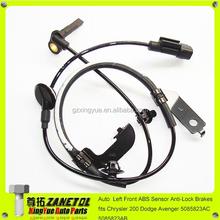 Auto Left Front ABS Sensor Anti-Lock Brakes fits Chrysler 200 Dodge Avenger 5085823AC 5085823AB