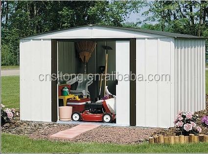 Steel storage sheds sale garden sheds metal for garden for Used metal garden sheds for sale