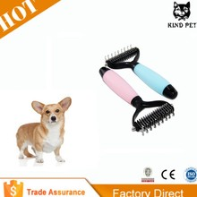 Pet Grooming &Dematting Tool Pets Hair remove Brush