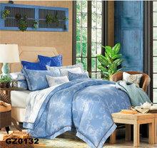 100% polyester 7pcs faux silk comforter set