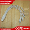 3 in 1 DVI Extension Cable Keyboard Video Mouse Extender - 6.6 Ft