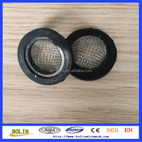 Stainless steel rubber washer filter screen / Stainless steel rubber washer filter