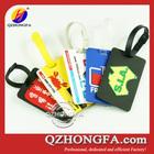 tag personalizado bagagem pvc macio