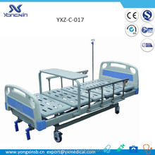YXZ-C-017 two functions adjustable manual hospital bed for the elderly
