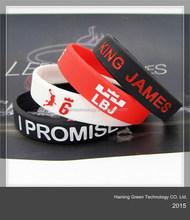 2015 high quality nba silicone wristbands
