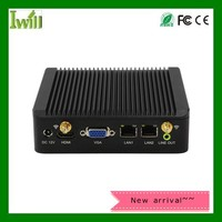 Iwill J1900 N6 quad core fanless Nano pc with ITX Computer Support 3G/4G