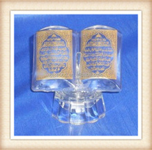 2015 Holy crystal religious crystal book for islamic gift