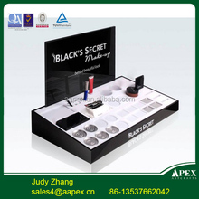 Apex Hot sales Decoration Showroom Cosmetic Display Showcase with drawer