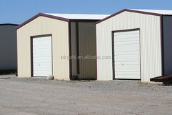 steel structure car garage low cost