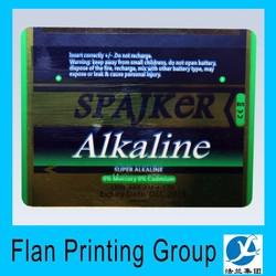 UV resistant Custom Vinyl holographic Sticker/ Hologram sticker
