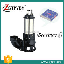 Stainless steel body submersible sewage water pump in pumps
