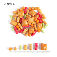 Good color and taste mix rice cracker,health food