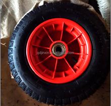 Rubber wheel 3.50-7 with plastic rim