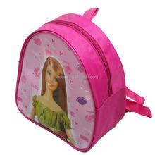 promotional custom korean style lovely girls cartoon pvc printing children school bag