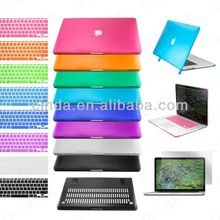"Rubberized Hard Case Cover for Apple Macbook PRO 13"" 15"" + Keyboard Skin Cover"