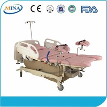 MINA-LB05 Luxurious Multifunction Electric operation table for child delivery