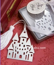 Book Lovers Collection castle metal bookmarks baby shower