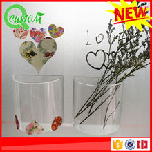 China manufacturer directly recyclable round plastic flower pot liners