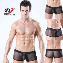 Wangjiang fotos de homens de cueca transparente roupa interior