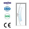 resistente a cupins de pvc porta de vidro do banheiro design