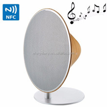 Emie Solo One Retro Smooth Wooden Wireless Speaker System, Support Bluetooth and NFC Function