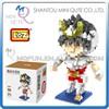 Mini Qute LOZ Anime boys cartoon model Saint Seiya Pegasus Seiya Super hero plastic building block educational toy NO.9480