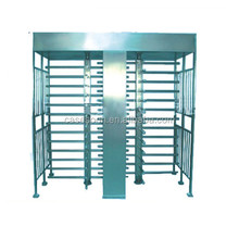 Double single full Height Turnstiles Military management district secure electronic