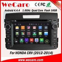 "Wecaro car audio system 7"" in dash for honda crv android 4.4.4 WIFI 3G 1080p tv tuner 2012 2013 2014"