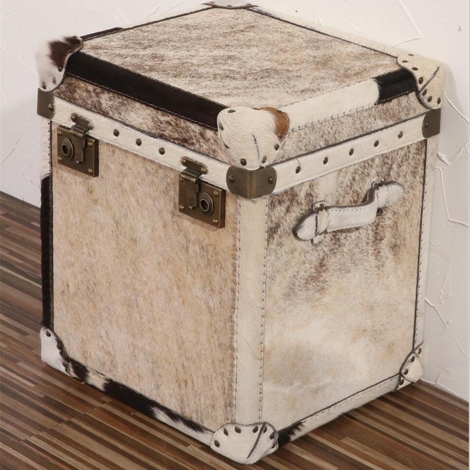 vintage bo te armoire de rangement en cuir fourrure tables en osier rotin id de produit. Black Bedroom Furniture Sets. Home Design Ideas