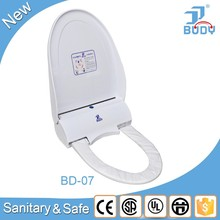 Lithium Battery Operated Acrylic Cover For Sanitary Toilet
