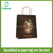 Fashion hot sell custom printed paper bag craft