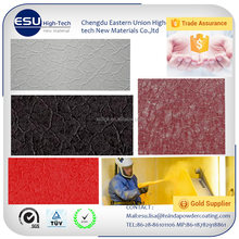 Alibaba Trade Assurance spray coated ral color thermosetting crocodile skin powder coating powder with best price