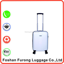 chinese decent suitcase with casters Trendy school trolley bag waterproof trolley suitcase protection cover