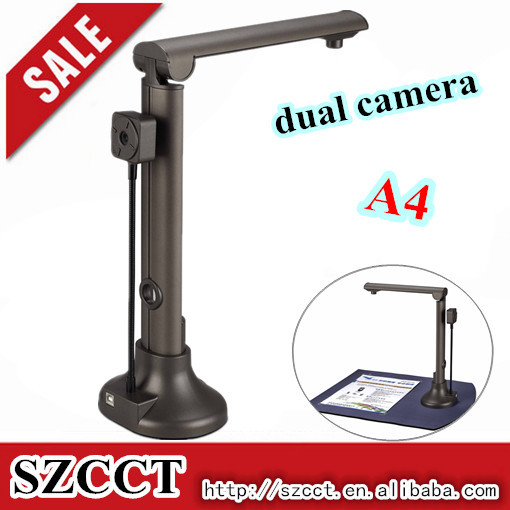 2015 shenzhen New arrival dual camera 5MP intelligent scanner P02-A4
