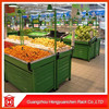 Spring fruit and vegetables shelves display for sale