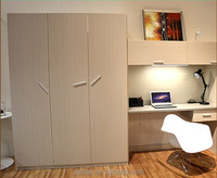 Storage cabinet design assemble wardrobe and study table/wardrobe with door