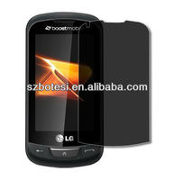 2013 Newest Good Quality High Matte black Privacy Screen Protector For BB9800