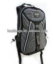 fashionable school backpack college dark grey color 2013