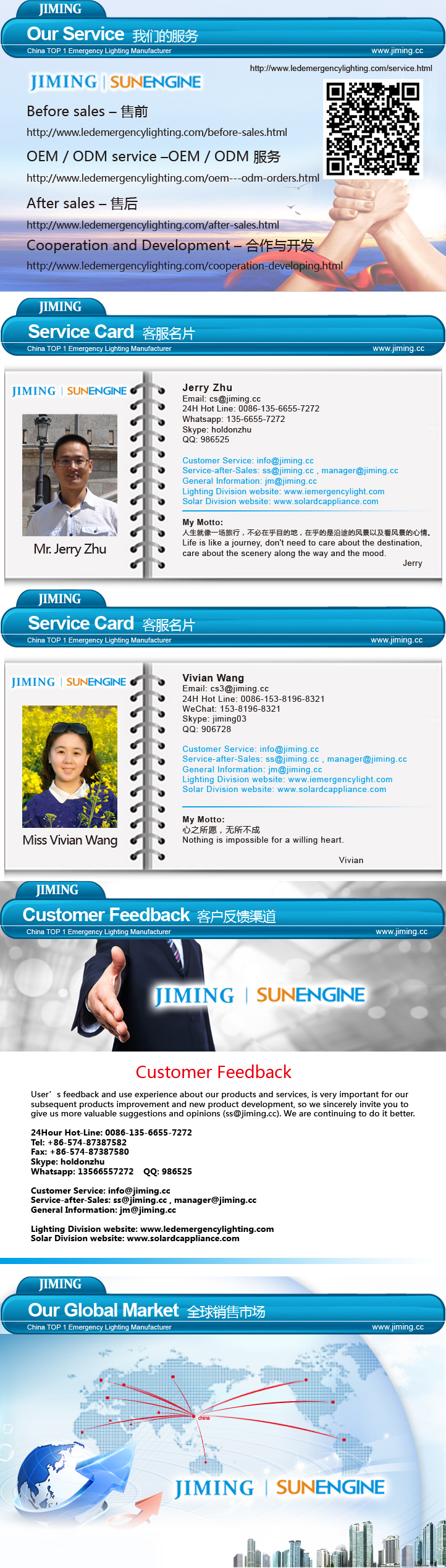 JIMIING -China TOP 1 Emergency Lighting Manufacturer Since 1967 UL&cUL Listed twin spot Emergency Light Combo JLEU5 150315ZN
