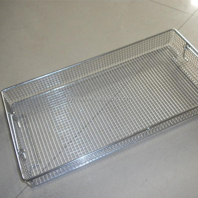 Stainless Steel Wire Mesh Basket Cooking Wire Mesh Basket