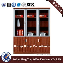 Hot photo about Office Filing Cabinet Wood File Cabinet HX-4FL009