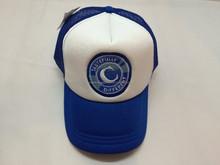 Embroidery foam and mesh trucker cap/hat,foam flat bill mesh baseball hat