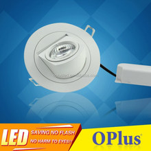 Manufacturer 5 Inch Angle Adjustable 10W LED Recessed Downlight
