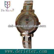 2013 attractive usb pen disk Quartz movement alloy shell alloy belt Quartz watch