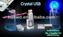 4GB custom gift crystal usb best america gifts